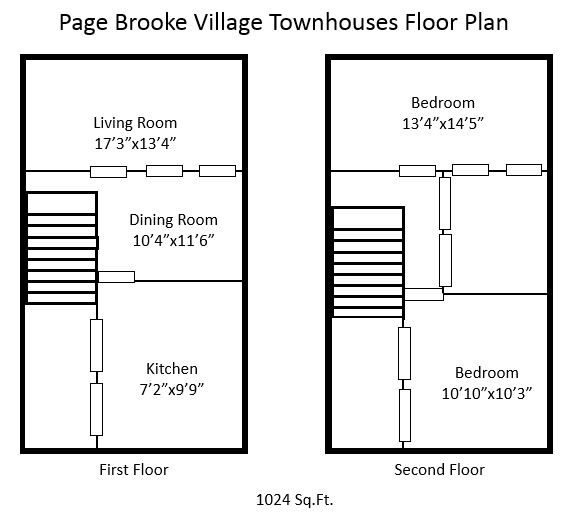 Apartments For Rent In Winchester Va: Page Brooke Village Townhouses 2BR